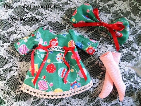 ◆ネオブライス◆クリスマス☆ワンピ緑3