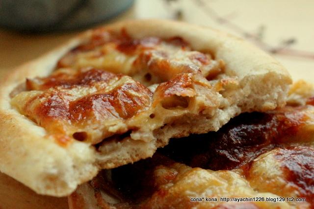 16.10.18蓮根と照り焼きチキンのパン1