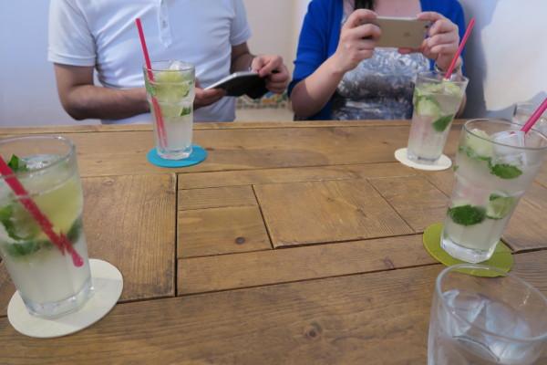 4つのライムソーダ