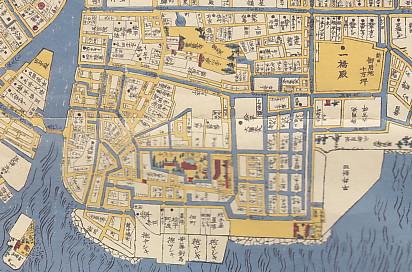 江戸地図深川