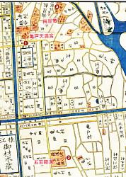 江戸地図亀戸