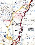 塩の道地図白馬村