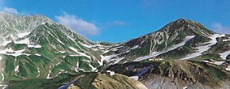 立山一の越浄土山