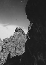 剣岳カニノハサミ
