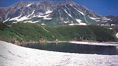 立山みくりが池から雄山