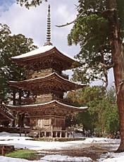 乙寶寺三重塔