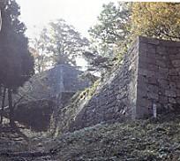 村上城本丸石垣