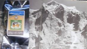 アンナプルナ第Ⅱ峰南面岸壁とヒマラヤ珈琲