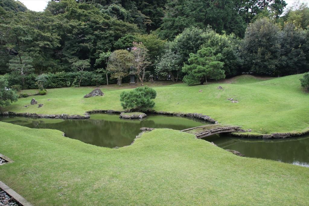 得月楼と方丈背後の庭園_4