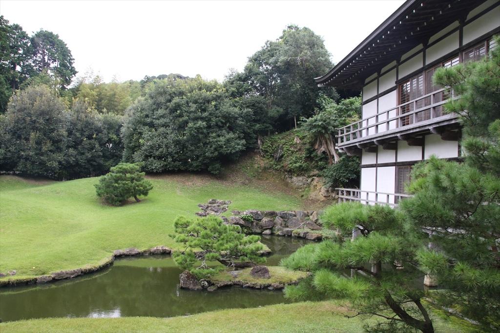 得月楼と方丈背後の庭園_5