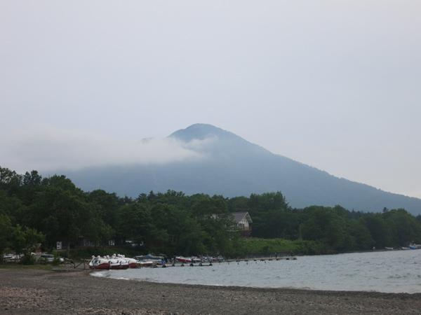 モラップ 雲のかかる風不死岳