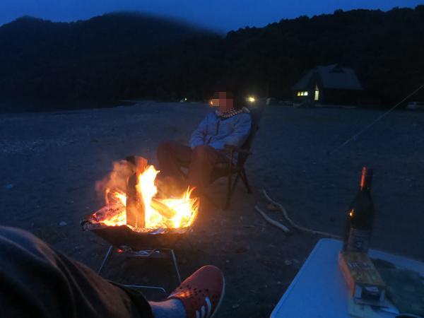 モラップ 焚火