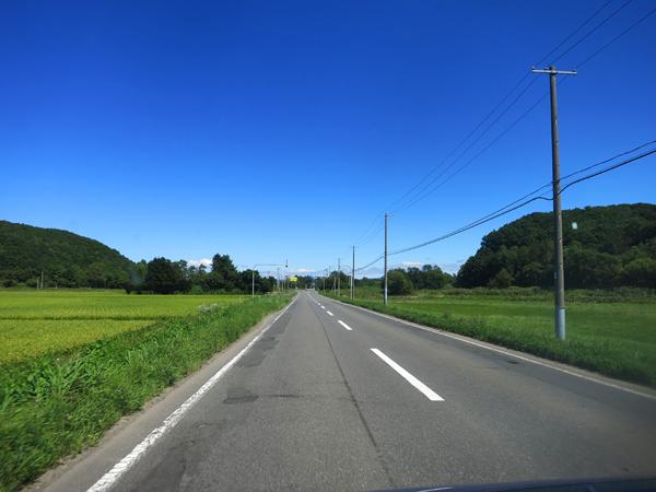 安平町への道
