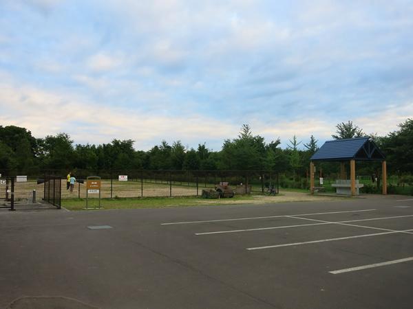 鹿公園 第2キャンプ場 炊事場 ドッグラン