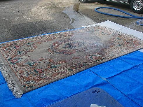 段通絨毯クリーニング