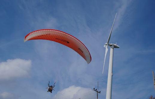 プーケット島のパラグライダー2