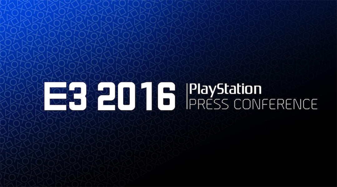SONY E3 2016