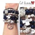 w74 Brazillia bracelet set navy silver1 (4)