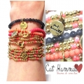 c003 fine peace cocobracelet set gold multi (7)