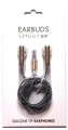 black gold earphone