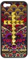 Flora Royalle Gold Studded Cross iPhone 55s Case (2)