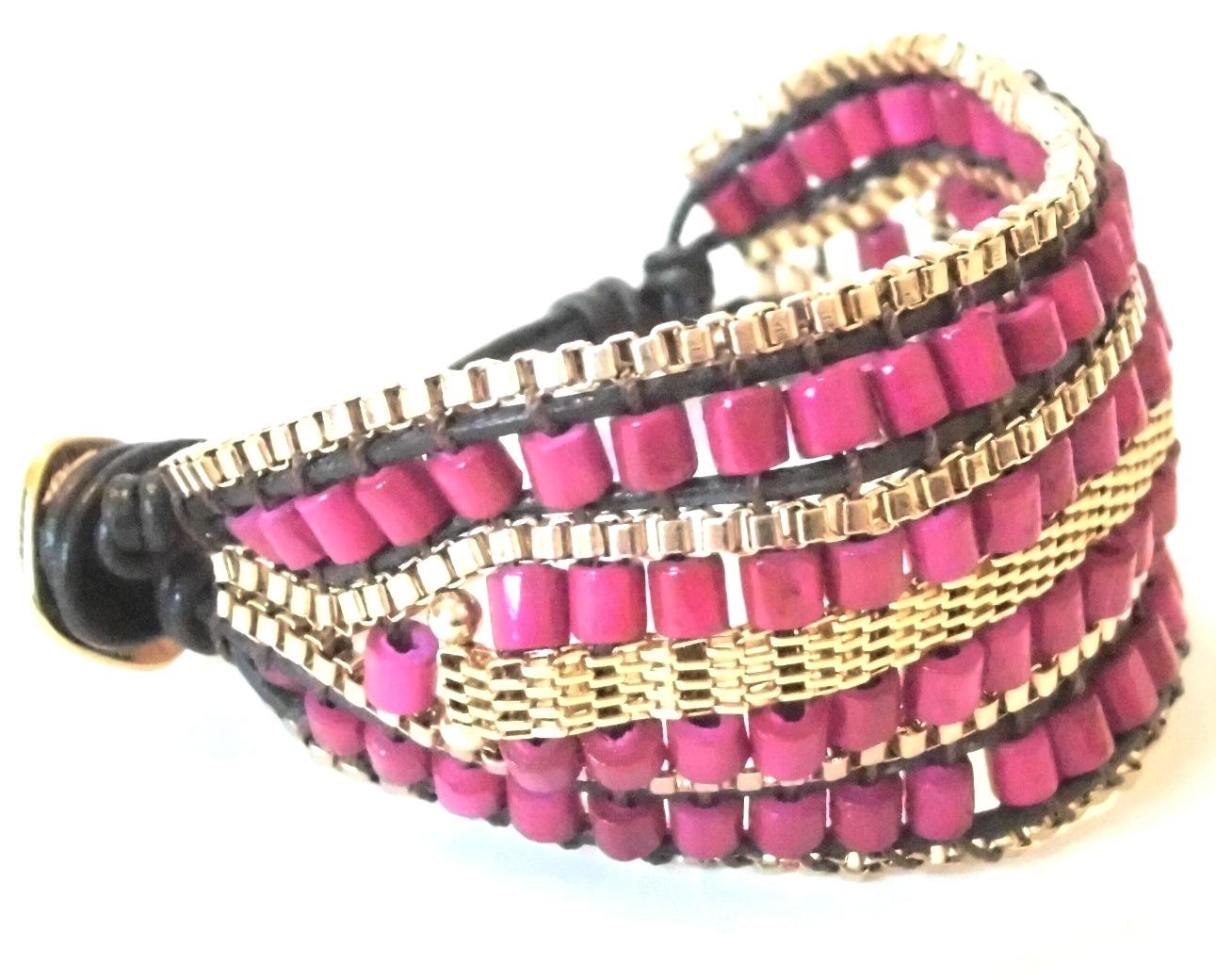gypset cuff hot pink (3)