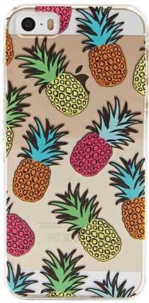 IPHONE 55S FRUITY PINEAPPLE CASE
