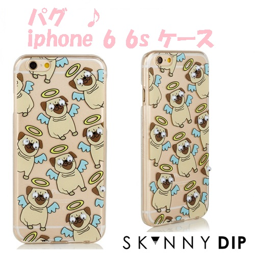 IPHONE 6 6S GOOGLY PUG CASE11