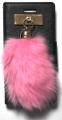 hot pink bunny charm iphone 6 6s case (2)