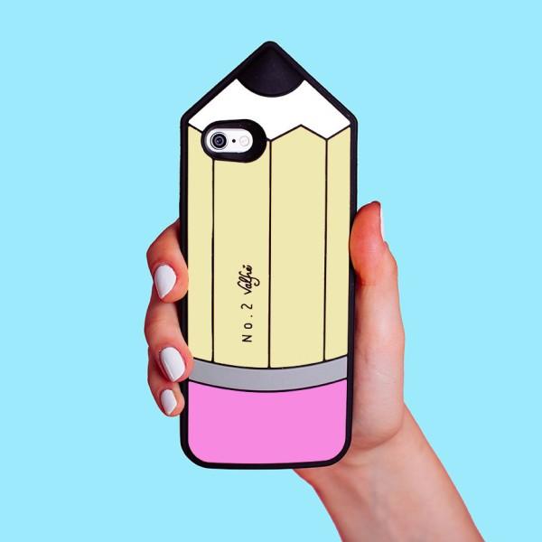 6b1004ef89 Valfre ( ヴァルフェー ) ロサンゼルス の 立体 えんぴつ iphone6plusケース PENCIL 3D IPHONE 6 plus /  6s plus CASE シリコン ビッグ ペンシル アイフォン シックス ...