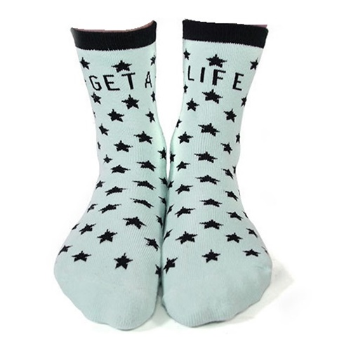 GET A LIFE SOCKS111111