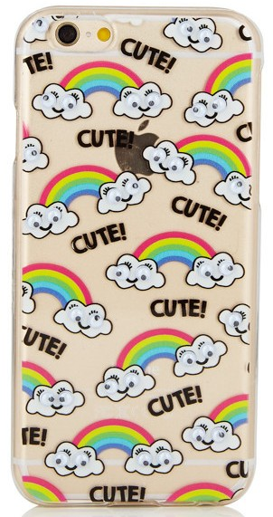 IPHONE 6 6S GOOGLY RAINBOW CASE