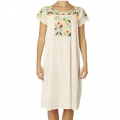 Selma Emb Dress ecru11