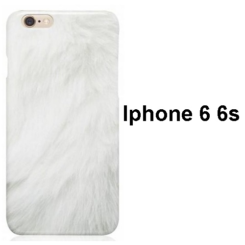 SO FLUFFY WHITE IPHONE 6 CASE1