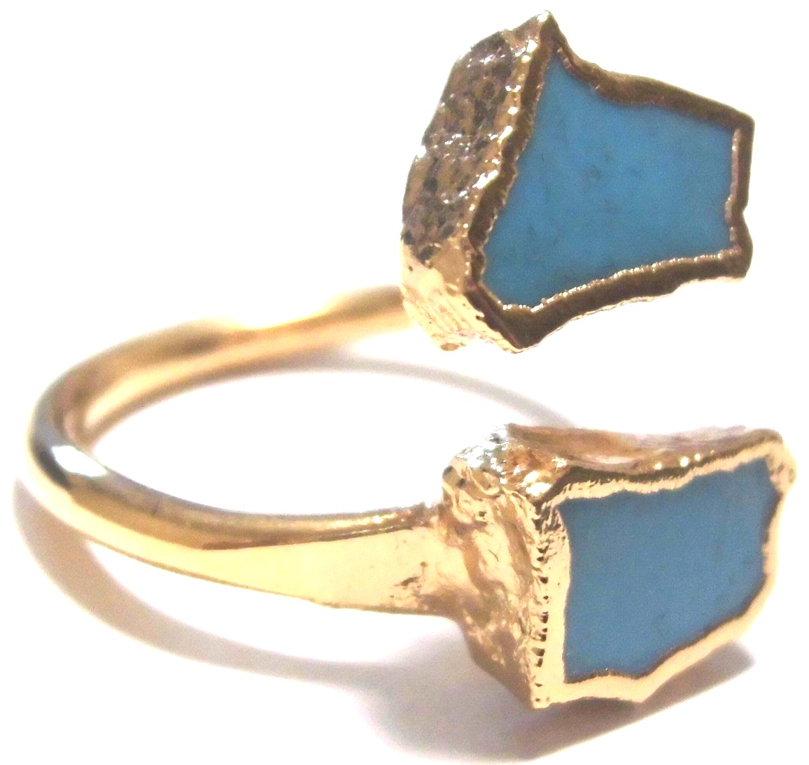 Turquoise Wrap Ring Gold 11 (1)