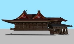 吉備津神社本殿02