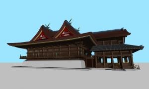 吉備津神社本殿03