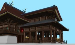 吉備津神社本殿06