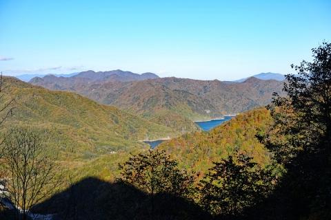 43奥鬼怒スーパー林道・川俣温泉へ川俣湖