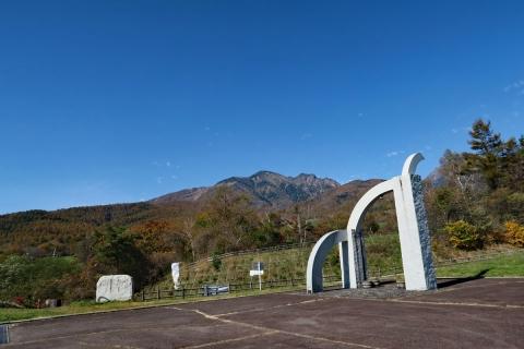 10八ヶ岳高原ラインまきば公園から八ヶ岳