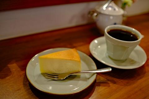 02エチオピアとチーズケーキ
