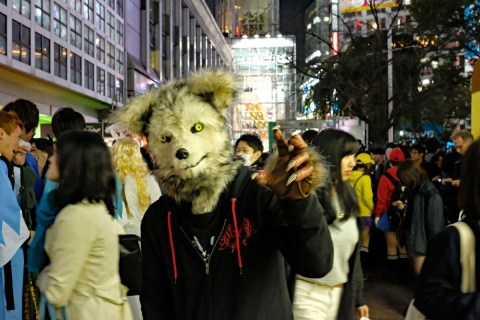11ハロウィン渋谷