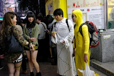 12ハロウィン渋谷