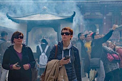 06浅草寺の風景