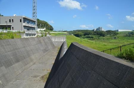 20160831矢那川ダム10