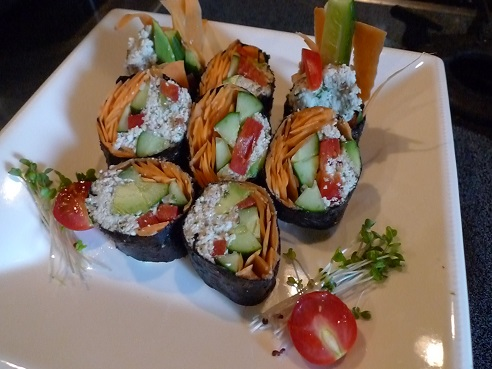 ローまき寿司ヨガ