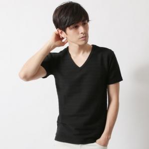無地Tシャツ 黒