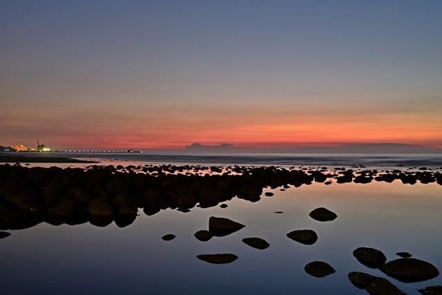 黄昏色の海岸(3)