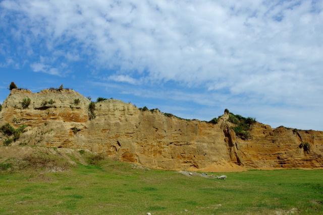 崖のある風景(1)
