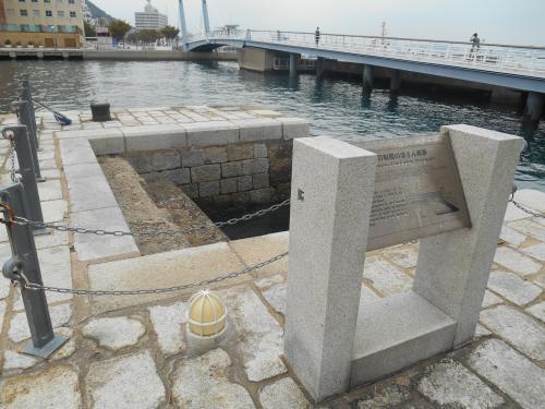 浮き桟橋跡2